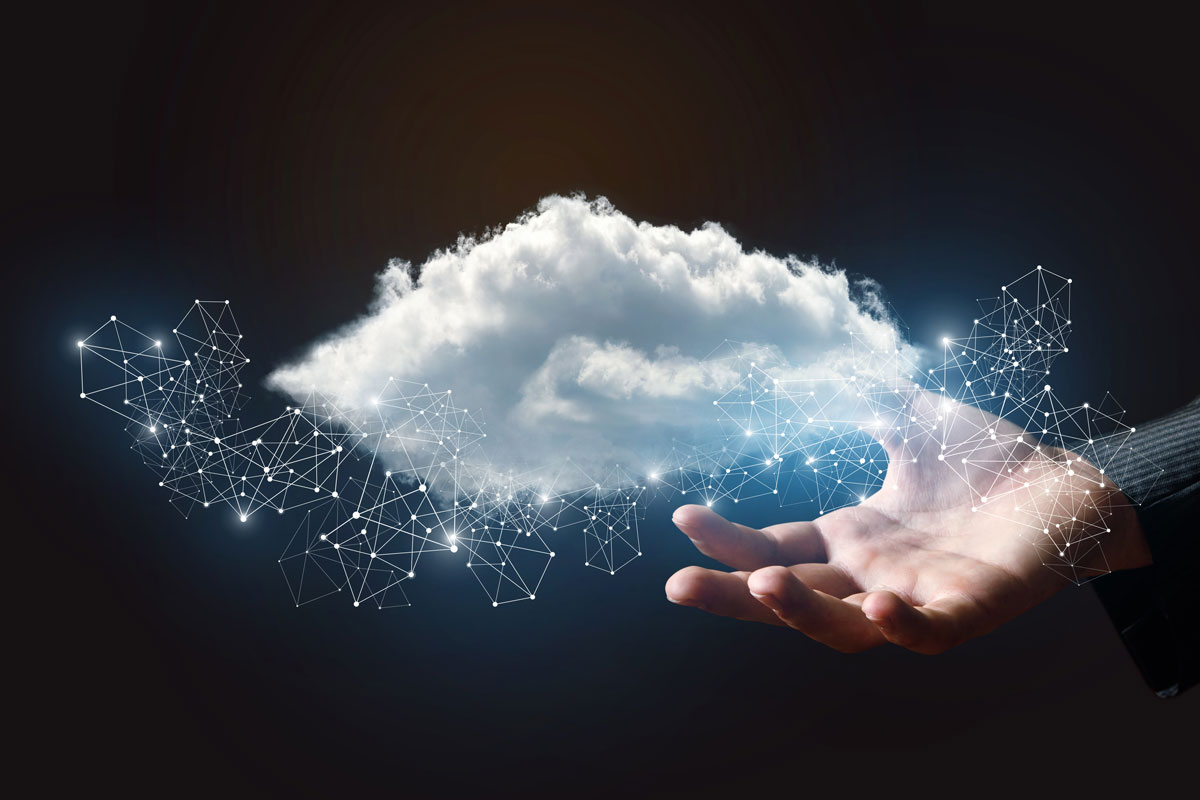 Holding Data in a Cloud